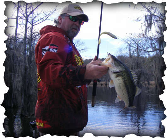 Mark Allen Fishing on Caddo Lake